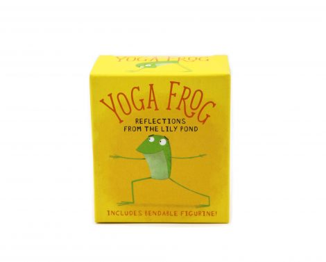 Yoga Frog - Reflections from the Lily - Oracle Cards