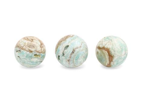 Blue Aragonite Sphere - Crystal Dreams