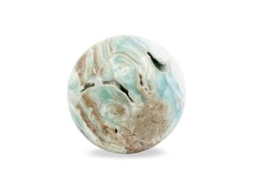 Blue Aragonite Sphere - Crystal Dreams