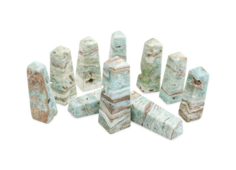 Blue Aragonite Prism - Crystal Dreams
