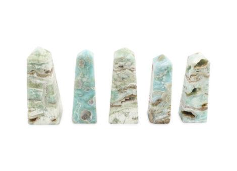 Blue Aragonite Prism - Crystal Dreams