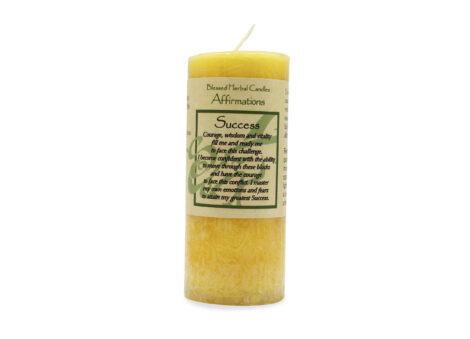 Blessed herbal candles success - Crystal Dreams