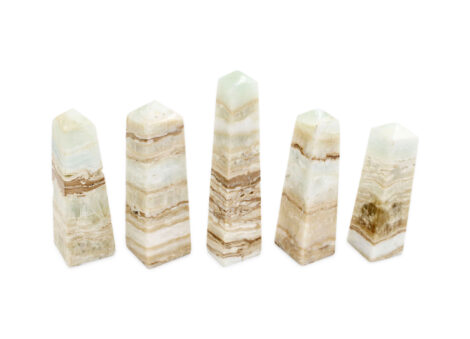 Caribbean Blue Calcite Prism - Crystal Dreams