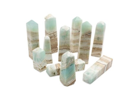 Caribbean Blue Calcite Prism High Quality-Crystal Dreams