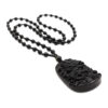 Obsidian Dragon Necklace- Crystal Dreams