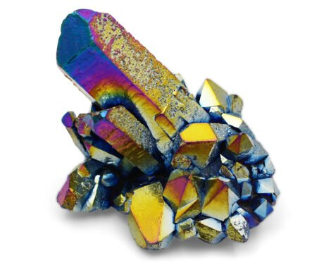 Aura Quartz Titanium - Crystal Dreams