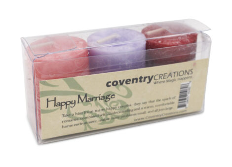Happy Marriage Blessing Candle Kit - Crystal Dreams