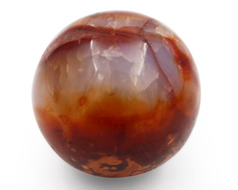 Carnelian sphere - Crystal Dreams