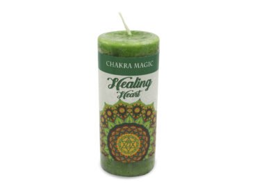 Healing Spell Candle For Heart Chakra - Crystal Dreams