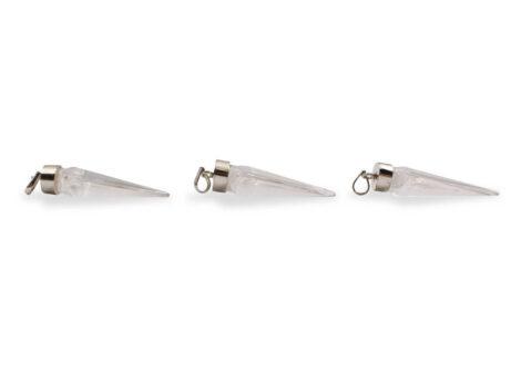 "Clear Quartz ""Arrowhead"" Sterling Silver Pendant - Crystal Dreams"