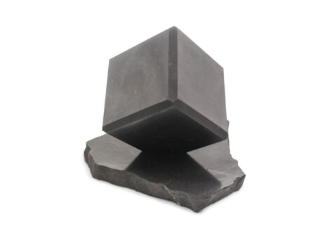 Shungite Corner Self Standing Cube - Crystal Dreams