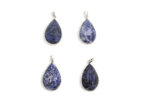 Sodalite Cabochon Sterling Silver - Crystal Dreams