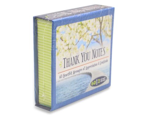 Thank You Notes: 60 Heartfelt Messages - Crystal Dreams
