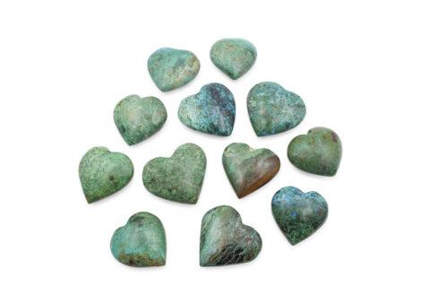 Chrysocolla Puffy Heart - Crystal Dreams