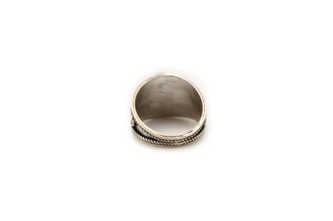 """Opal """"Cabochon"""" Sterling Silver Ring-Crystal Dreams"""