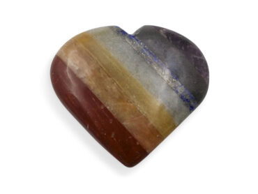 7 Chakras Puffy Heart - Crystal Dreams