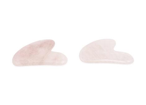 Rose Quartz Double Head Gua Sha - Crystal Dreams