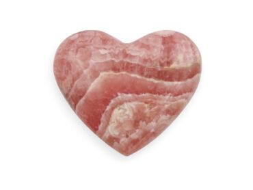 Rhodochrosite Heart - Crystal Dreams