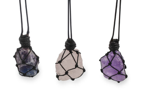 Rough Wrapped Necklace - Crystal Dreams