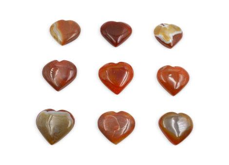 Carnelian Puffy Heart - Crystal Dreams