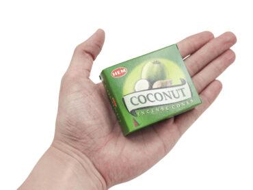 HEM Coconut Incense Cone - Crystal Dreams