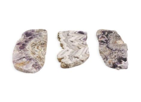 Amethyst Chevron Brazil 5-10cm Slices - Crystal Dreams