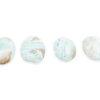 Blue Aragonite Palm Stone - Crystal Dreams