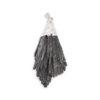 Rough Black Kyanite Pendant Silver Colour - Crystal Dreams