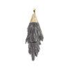 Rough Black Kyanite Pendant Gold Colour - Crystal Dreams