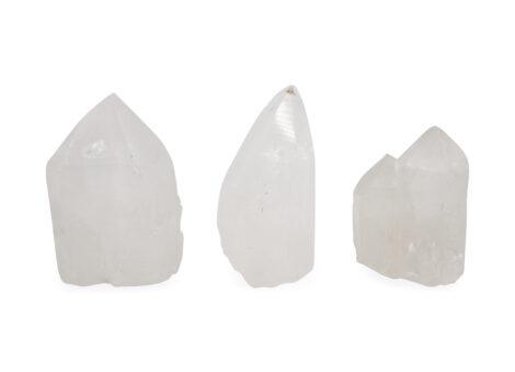 Clear Quartz Point Lamp - Crystal Dreams