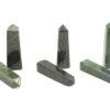 Jade Nephrite Prism Point Tower - Crystal Dreams