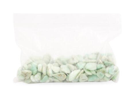 Chrysoprase Tiny Crystal Bag - Crystal Dreams