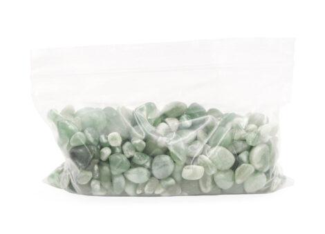 Aventurine Tiny Crystal Bag - Crystal Dreams