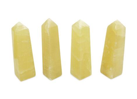Yellow Calcite Prism - Crystal Dreams